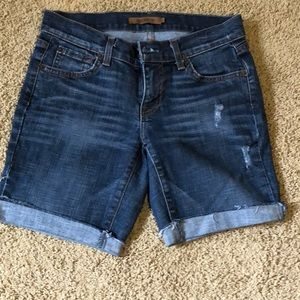 Arden B. Denim shorts